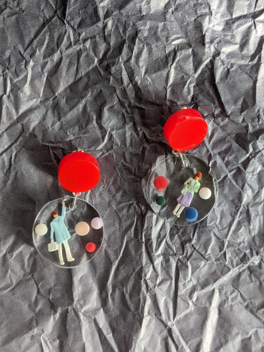 Handmade earrings-Hygge